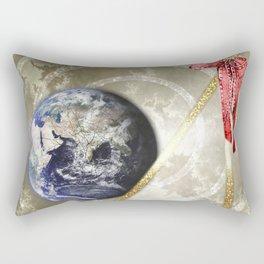 Cosmic Four of Wands Rectangular Pillow