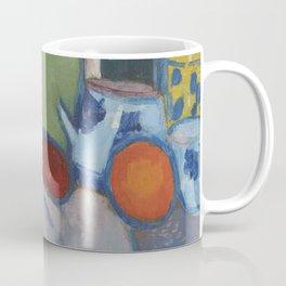 Alexej von Jawlensky Stilleben mit Früchten Figur und Flasche 1907 Coffee Mug