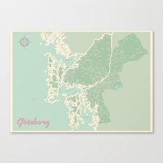 Gothenburg 50s style Canvas Print