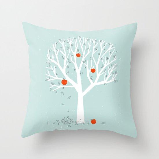 Apple Season Throw Pillow