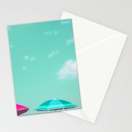 Pastel Beach Sky Stationery Cards