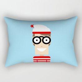 Wally Rectangular Pillow