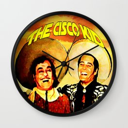 The Cisco Kid Wall Clock