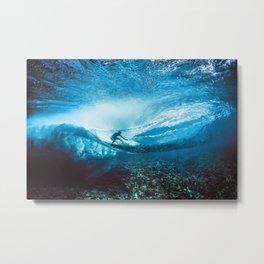 Wave Series Photograph No. 24 - Beneath the Surface Metal Print