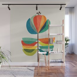 Whimsical Bloom Wall Mural