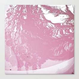 Reflected Pink Canvas Print