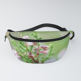 Heather flower Fanny Pack