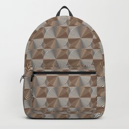 Chrome art deco Backpack
