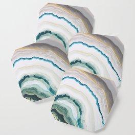 Green Agate #1 Coaster