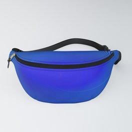 Electric Blue Swirl Fanny Pack