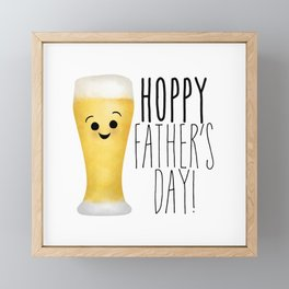 Hoppy Father's Day Framed Mini Art Print