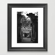 Onlookers Framed Art Print