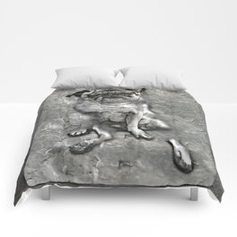 Pug in Carbonite Comforters