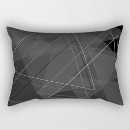 Triangoli Rectangular Pillow