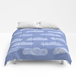 Fluffy Clouds Comforters