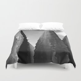Agave Towers Duvet Cover