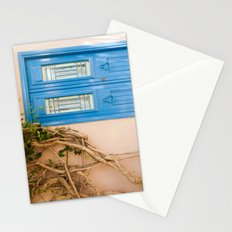 Blue Door in Chania, Crete Stationery Cards