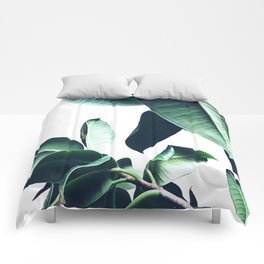 Ficus Elastica #26 #foliage #decor #art #society6 Comforters