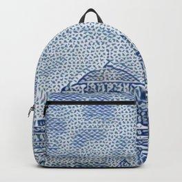 Turkey Hagia Sophia Artistic Illustration Raw Cloth Style Backpack
