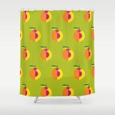 Fruit: Peach Shower Curtain
