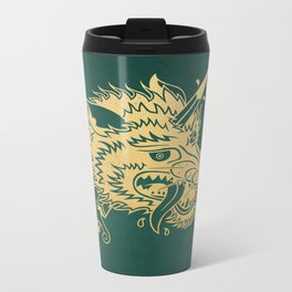 Wolf & Dagger - Color Metal Travel Mug