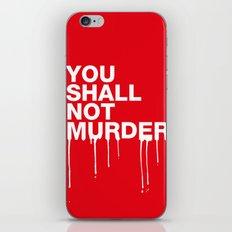 The Sixth Commandment iPhone & iPod Skin