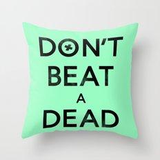 Seriously... Throw Pillow