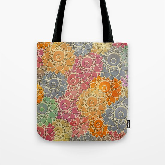 Flower Pattern 2 Tote Bag