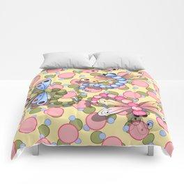Dragonflies & Polka Dots Comforters