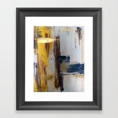 pieces of zen Framed Art Print