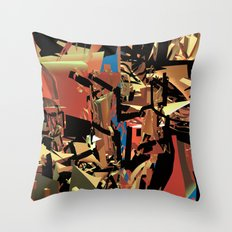 Nietzsche Walks Out At Bayreuth (The Theater of Noisea)  Throw Pillow