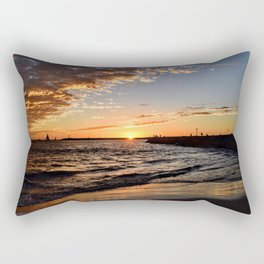 So Cal November nights Rectangular Pillow