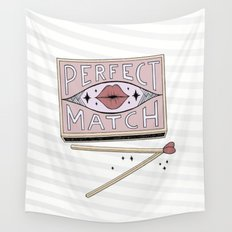 Perfect Match Wall Tapestry