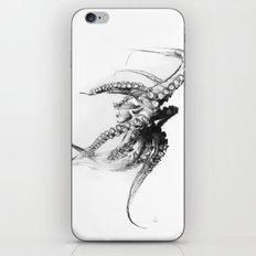 Octopus Rubescens iPhone & iPod Skin