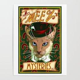 Mr. Meez's Mysteries Poster