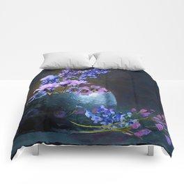 Moon Flowers Comforters