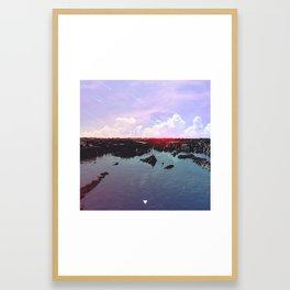 ARRIVAL ∀ Framed Art Print