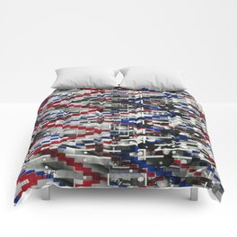 Clinically Proven (P/D3 Glitch Collage Studies) Comforters