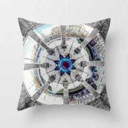 Mandala square Throw Pillow