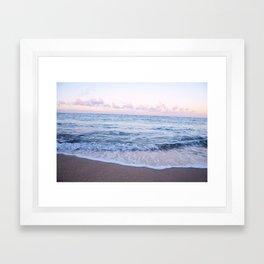Ocean Morning Framed Art Print
