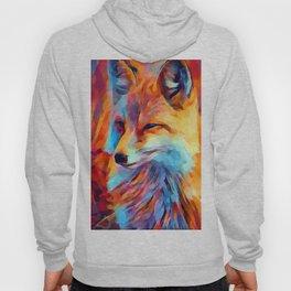 Fox Watercolor Hoody
