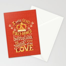 Battalion Stationery Cards