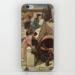 Diogenes by John William Waterhouse iPhone Skin