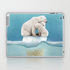 polar ice cream cap 02 Laptop & iPad Skin