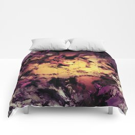 A repeated immersion Comforters