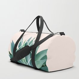 Agave geometrics - peach Duffle Bag