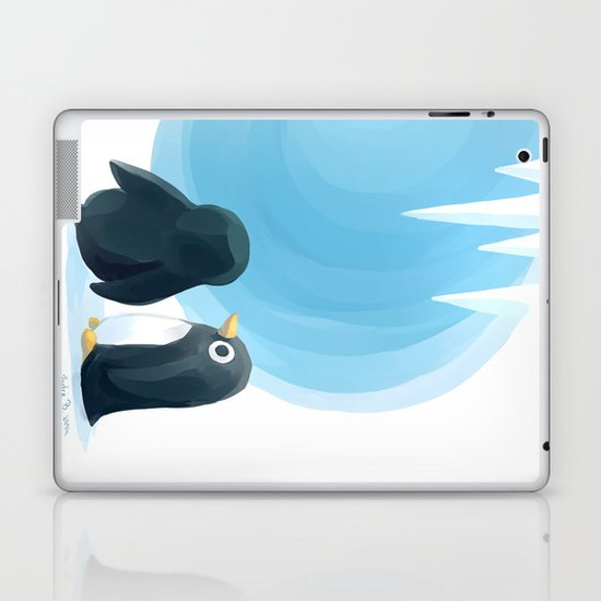 Penguin Playground Laptop & iPad Skin