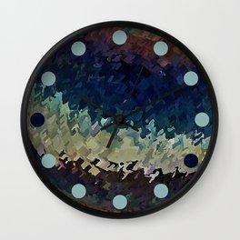 Desert Water Wall Clock
