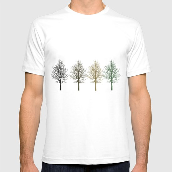 Four Colors Trees T-shirt