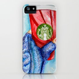 Holiday Cup iPhone Case